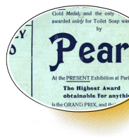 PEARS WINS THE GRAND PRIX AWARD AT PARIS